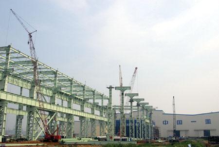 一重大连加氢公司于1994年开始筹建,1997年4月在大连棉花岛开工,自