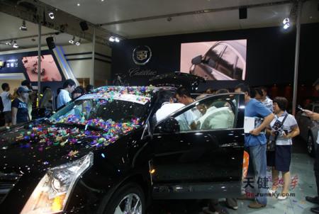 范 震撼表现 凯迪拉克SUV SRX大连上市高清图片