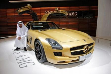 迪拜黄金车_黄金跑车(2)图片 黄金跑车(2)图片大全_社会热点图片_非主流图片站
