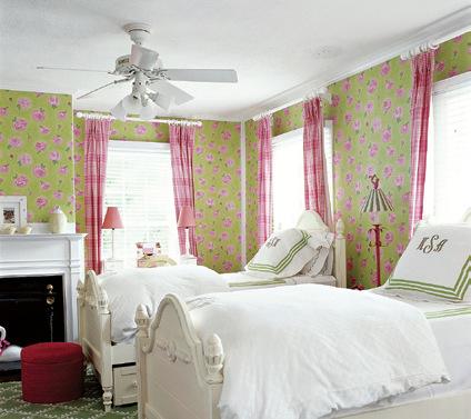 卧室窗帘vs墙面 5种花样搭配