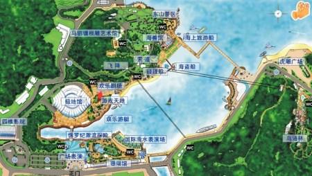 世界最大,中国唯一的展示极地海洋动物及极地体验的场馆――极地馆