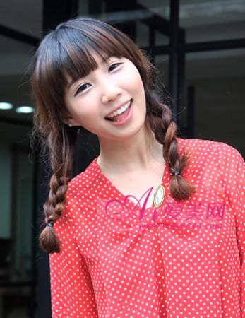 甜美可爱韩系编发 变身夏日糖果女孩