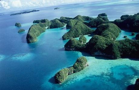 帕劳居民生活照