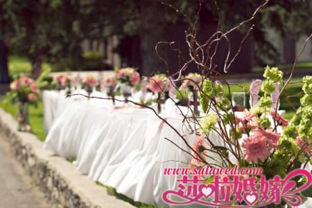 婚宴装饰细节