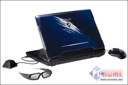 3D游戏笔记本 华硕G51XI72J售价19688元