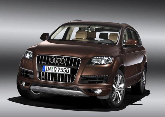 2010款奥迪Q7中期改款车型发布 今秋上市